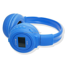 New Headband Bluetooth headphone factory with memory card mp3 player music stereo headset