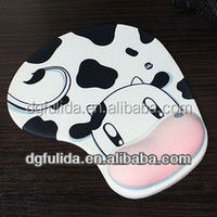Cute Silicon Animal Cow Mouse Wrist-rest pad
