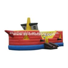 2012 new sports inflatable games most popular attractive inflatable pirate boats