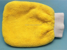 Microfiber car wash glove, glass calening, house cleaning glove