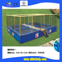 2015 New Model Popular Long Large Commercial Trampoline for sale