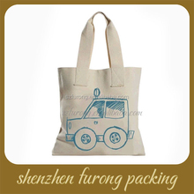 custom shopping promotional organic recyclable cotton bag