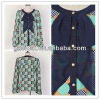 awear extra quantity ladies nice open blouse,ladies blouse, girls