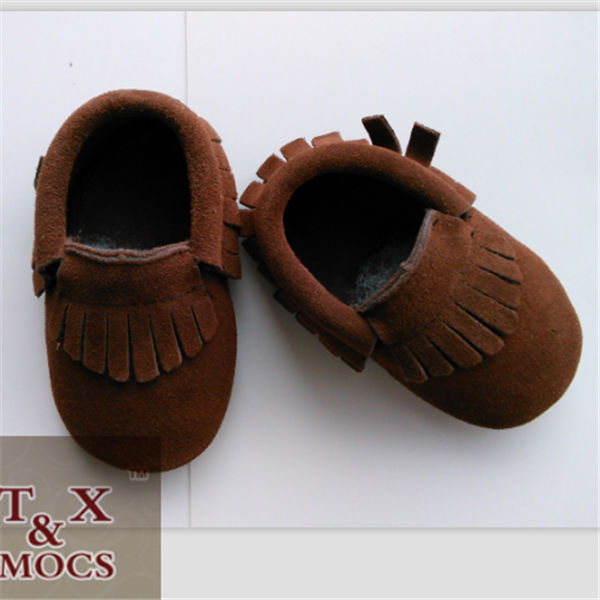 Buster Brown Baby Walking Shoes Soft Suede Leather