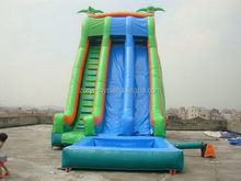 Top quality useful inflatable water tree slide