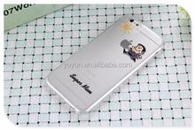 Wholesale Cartoon Novel Durable hard phone case for 5/5S/6/6 plus