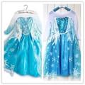 directa de la fábrica saleswholesale pequeño bebé niñas niños congelados de moda vestidos de imágenes
