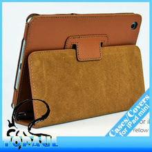 Fashion designer pu leather table handbag holder for ipad