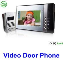7inch color video door phone/video door bell/ intercom system