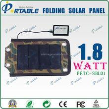 Factory supply 1.8W portable solar charger