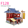 high quality educational wooden doll house toys