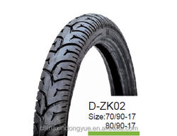 DONGYUE chinese tire! Motorcycle tire made in China 70/90-17 80/90-17 6PR excellent quality motorcycle tire