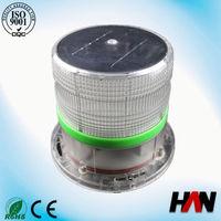 Solar Aviation Obstruction Bio Fuel Heater Light