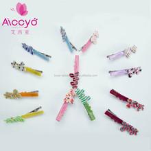 Acetate Barrette handmade hair accesories mini hair claw butterfly hair clips