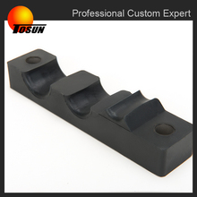 hot sale custom size metal rubber parts for trucks rubber shock absorber pad