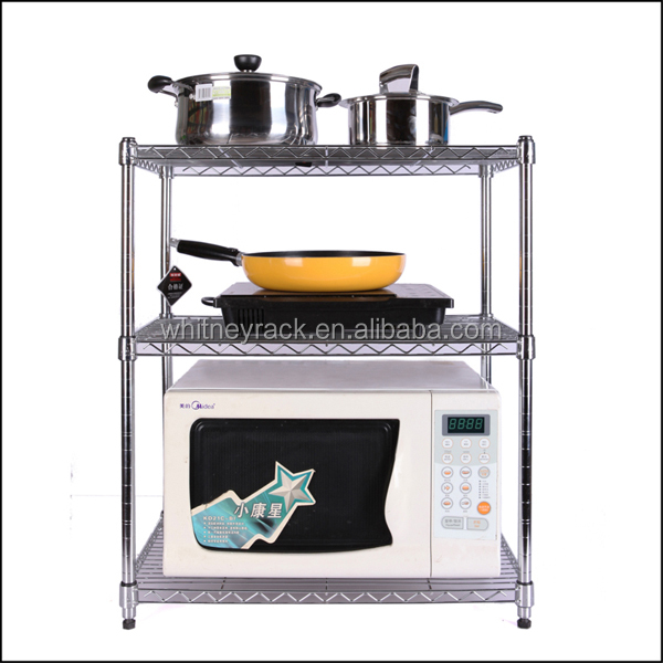 heavy duty adjustable metal shelves chrome wire shelving. Black Bedroom Furniture Sets. Home Design Ideas