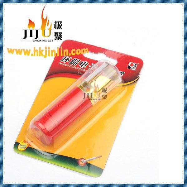 Jl-045v Yiwu Jiju fresco fumar acessórios mais leves Bic eletrônico Usb isqueiro