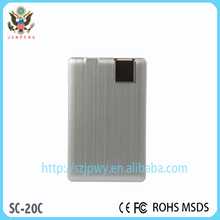Best quality single usb super thin power bank recycling power bank battery charger