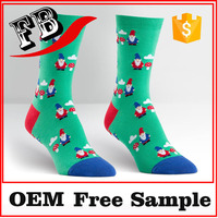 christmas decorative socks socks supplier custom knitted socks