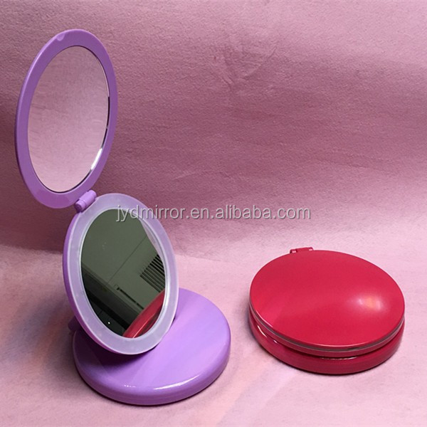 Self Standing Makeup Mirror With Led Lights Vanity Table