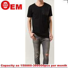 new fashion design mens cotton t shirt wholesale China manufacturer tee shirt blank