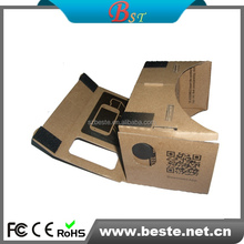 Biconvex lens cardboard google virtual reality headset vr glasses