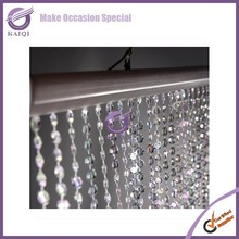 K4231 Fantasitc crystal bead curtain for wedding occasion decoration