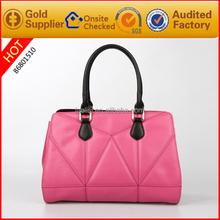 Guangzhou wholesale women designer hand bags fashion custom tote bag