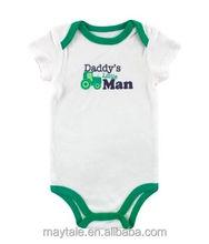 infant short sleeve creeper