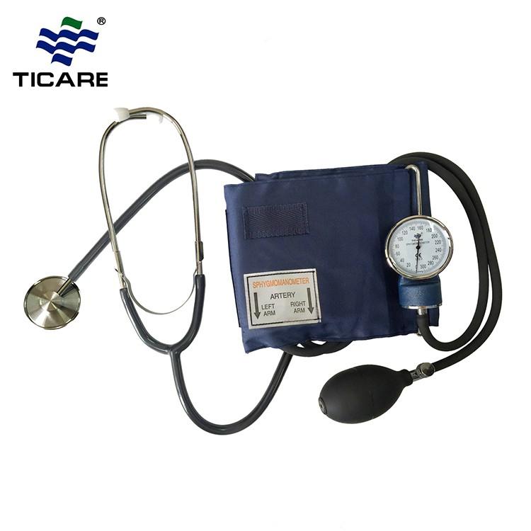 Salud en el hogar tensiómetro aneroide manual con separada estetoscopio