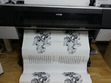 Digital printing material for eco solvent plotter and printer