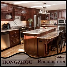 China Alibaba Solid Wood Kitchen Cabinets Prefabricated Homes