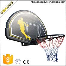 portable basketball hoop system