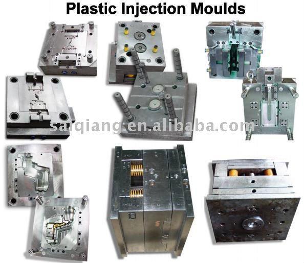 Moldes de inyección de plástico del fabricante del molde