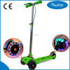 Kids maxi kick scooter for sale with LED Light up Wheels
