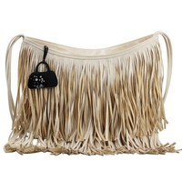 Free Shipping VEEVAN New Arrival Women's Suede Fringe Handbags Fashion Tassel Shoulder Bags for Ladies