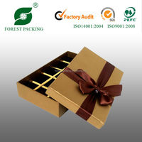 2014 WHOLESALE DURABLE ECO-FRIENDLY GIFT BOXES WITH INSERTS