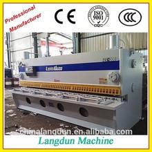Guillotina hidráulica, máquina esquiladora QC11K-6*2500