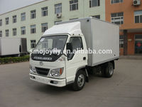 clw cargo truck mobile stage truck for roadshow
