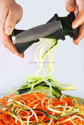 stainless steel fruit & vegetable spiral handy slicer kitchen tools cooking tools