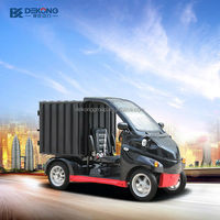 low cost short distant delivery 4wd electric mini truck
