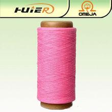 Precio reciclado de algodón poliéster hilado calcetines fábrica