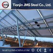 Pile ground mounting system Aluminum Solar Frame