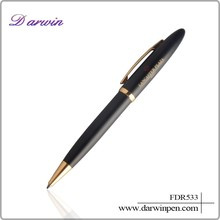 Black IM Royal Blue Chrome Trim Ballpoint Pen