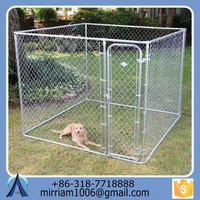 Durable and Eco-friendly Anping Baochuan Easily clean powder coating dog kennels/pet cages