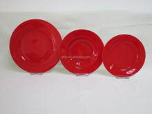 2015 New Product Red Dinner Set Latest Dinner Set Designs,Exclusive Dinnerware,18 pcs Dinnerware