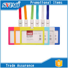 6 Candy Colors Dull Polish Waterproof PP Material fancy cheap bulk business card holders,id cardholder