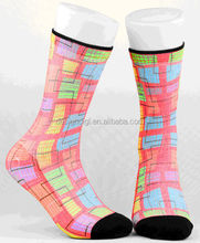 Fancy Color 2015 New Design Hot selling Wood Fiber Cotton women socks girls socks with good quality and fast delivery