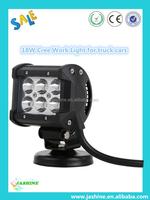 2015 Super Bright Offroad 18W LED Work Light, LED Light Bar 12V 24V for Trucks Cars ATV UTV LED Work Light
