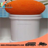 China concrete pump straight pipe cleaning sponge ball
